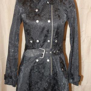 Betsey Johnson Trench Coat/Dress